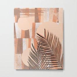 Leafy N. 2 Metal Print