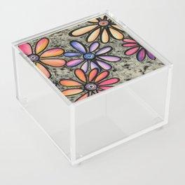 Flowers # 4 Acrylic Box