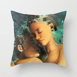 Be castaway into your arms Throw Pillow