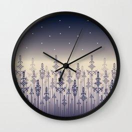 Dark Field Wall Clock