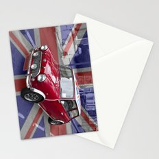 British Classic Mini car Stationery Cards