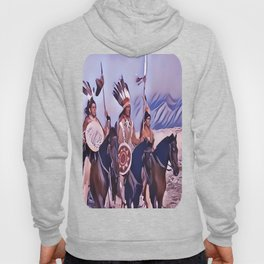 Native American Indian Chief Hoody