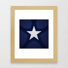 captain shield Framed Art Print