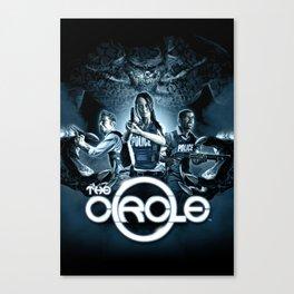 The Circle Canvas Print