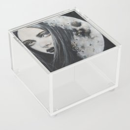 Weeping Heart and the Moon Acrylic Box