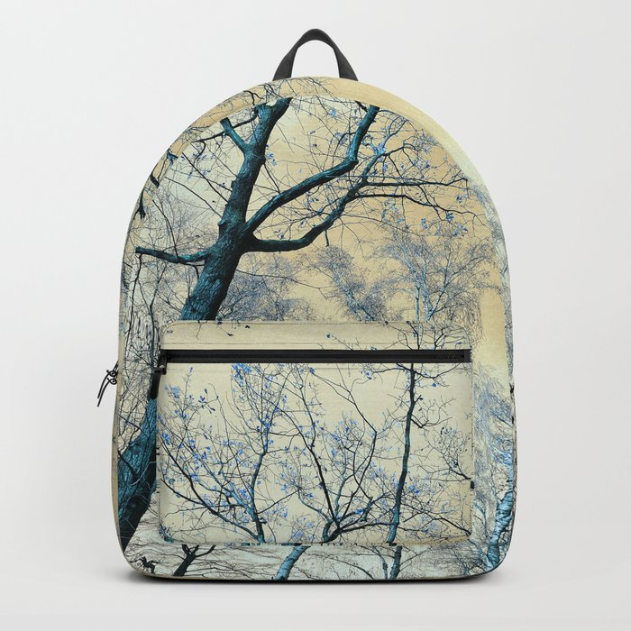 Trees nature infrared landscape Backpack
