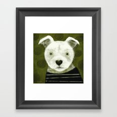 AMERICAN PIT BULL TERRIER Framed Art Print