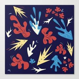 Ocean Jungle Canvas Print