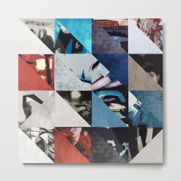 u2's achtung baby triangles Metal Print