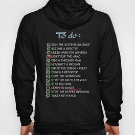 Commander Shepards To-Do List Hoody