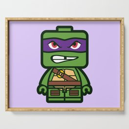 Chibi Donatello Ninja Turtle Serving Tray