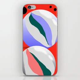 Marbles I iPhone Skin