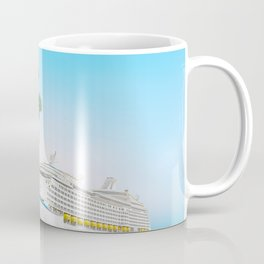 Christmas holidays on Caribbean cruise Coffee Mug