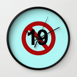 K-Poppin: Rated 19 Wall Clock