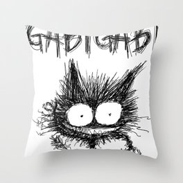 GabiGabi Monster Throw Pillow