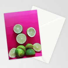 Cherry Limeade Stationery Cards