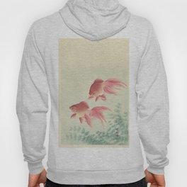 Two veiltail goldfish - Ohara Koson (1900 - 1936) Hoody