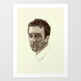 I Am Jack's Wasted Life Art Print