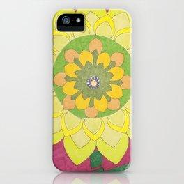 Flower of My Sun iPhone Case