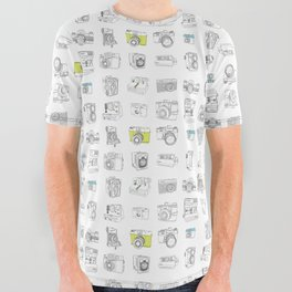My Camera Collection All Over Graphic Tee