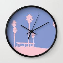 California coast Wall Clock