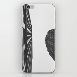 Downtown Detroit Skyscrapers Dime Building and Penobscot iPhone Skin