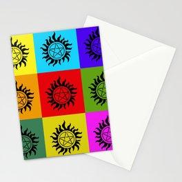 Supernatural Color Block Stationery Cards