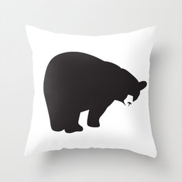 Bruno Bear #1 Throw Pillow