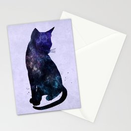 Galactic Cat Stationery Cards