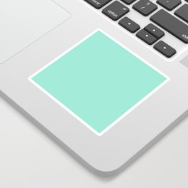 Simply Pure Turquoise Sticker