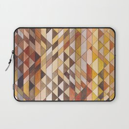 Triangle Pattern Fall Colors Laptop Sleeve