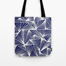 TriangleAngle (Navy) Tote Bag