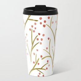 Golden blossom Travel Mug