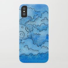 Baby Blue Dreamin Slim Case iPhone X