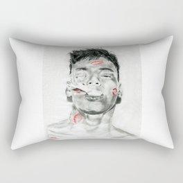 Kiss-Bombed Rectangular Pillow