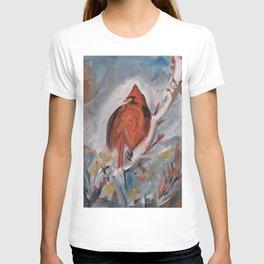 Winter Cardinal T-shirt