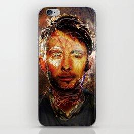 The Portrait Eraser (Thom Yorke) iPhone Skin