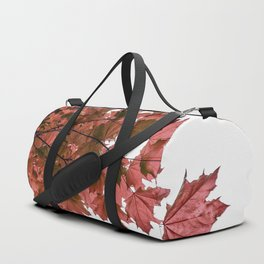 Red Maple Duffle Bag