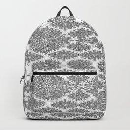 Neutral Damask Backpack