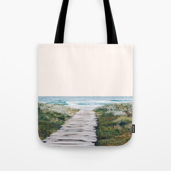 The Ocean is Calling & I Must Go #society6 #buyart Tote Bag