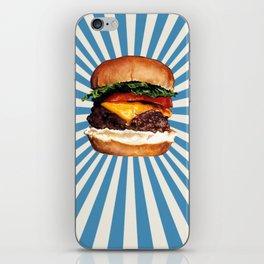 Cheeseburger iPhone Skin