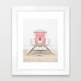 Pink Tower 6 Framed Art Print