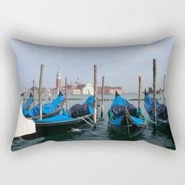 Gondola in  Venice Italy Rectangular Pillow