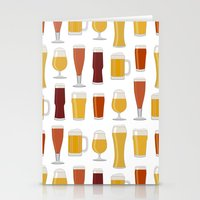 beer Stationery Cards featuring Beer  by Cute to Boot