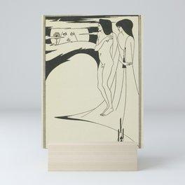 AUBREY BEARDSLEY Salome Oscar Wilde Woman - The Woman in the Moon Mini Art Print