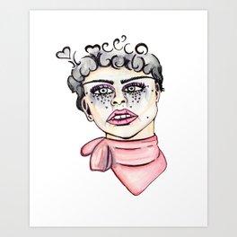 love cry  Art Print