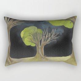 Duality Tree Rectangular Pillow