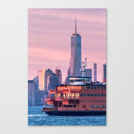NYC Staten Island Ferry Canvas Print