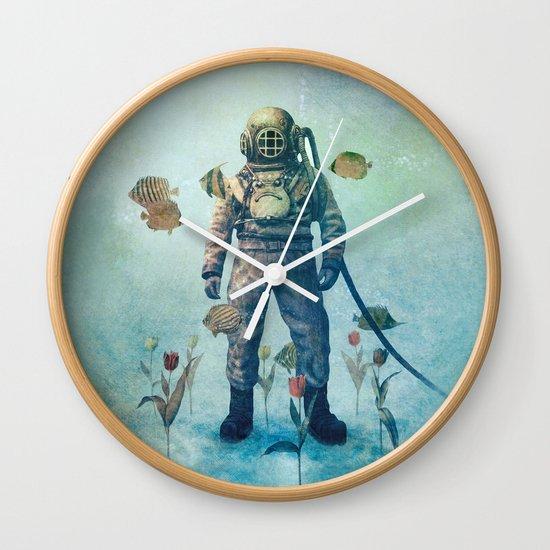 Deep Sea Garden  Wall Clock