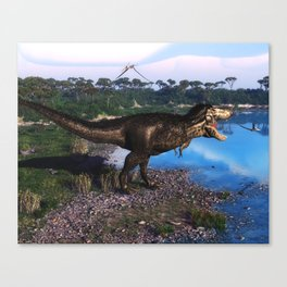 Tyrannosaurus 2 Canvas Print